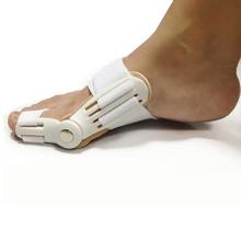 1Pair=2pcs New Big Toe Bunion Splint Straightener Corrector Foot Pain Relief Hallux Valgus For Unisex Pedicure Foot Care(China (Mainland))