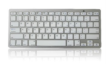 Bluetooth Wireless White Keyboard for Macbook for ipad 4 3 Air Mini for iphone 5 5S 4 for Computer Laptop Tablet PC Notebook