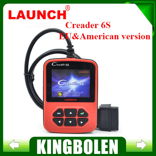 2015 New Arrival Original Launch X431 Creader 6S OBDII Generic Code Reader Scanner EU&American Version Launch Creader VI Plus(China (Mainland))