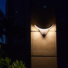 Human body Induction Outdoor Wall Lamp motion sensor ip54 Waterproof Garden Lights Villa Balcony Wall Sconce(China (Mainland))