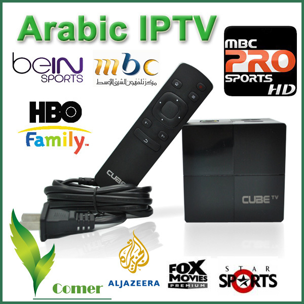 Best Arabic IPTV Box with 450 Free Arabic Channels BeIN Sports MBC OSN,450+Channels Arabic TV Box Android TV Box(China (Mainland))