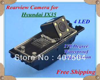 Factory selling, CCD with 4LED backup Camera rearview parking for Hyundai IX35 Tucson