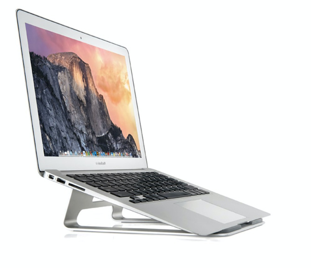 Aluminum notebook laptop computer stand to protect the cervical spine Nottable Laptop Stand(China (Mainland))