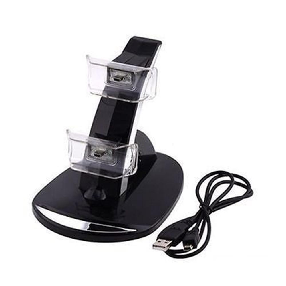 manette dual usb charging dock stand charger for sony. Black Bedroom Furniture Sets. Home Design Ideas