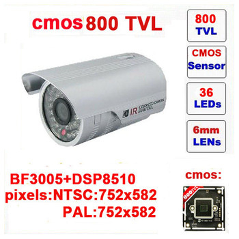 Free shipping infrared video camera ccd mini bullet camera 800tvl cctv with ir-cut 36 leds outdoor security z551c<br><br>Aliexpress
