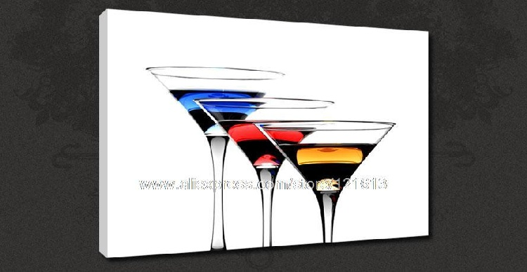 Modern Kitchen Paintings high quality funky canvas art promotion-shop for high quality