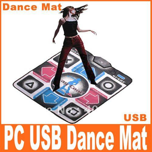 Hot Sell! Non-Slip Dancing Pad Step PC USB Dance Mat Game Dance Mat Pads,Free Shipping, Wholesale/Retail(China (Mainland))