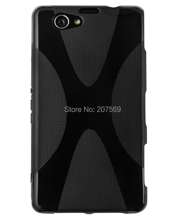 For Xperia Z3 Compact X Design Gel case,New X Line Soft TPU Gel Skin Cover case For Sony For Xperia Z3 Compact Z3 Mini