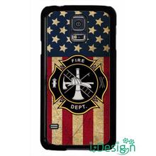 Fit for iphone 4 4s 5 5s 5c se 6 6s plus ipod touch 4/5/6 back skins cellphone case cover Firefighter Fireman Flag