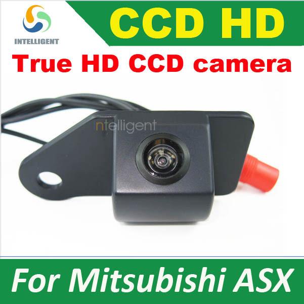 HD CCD Car rear view camera For Mitsubishi ASX night vision waterproof color reversing camera parking camera