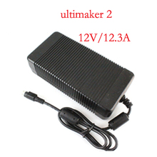 AC/DC adapter power supply for Ultimaker 2 UM2 Extended 3d printer,24V,12.3A 10A 8A,good quality