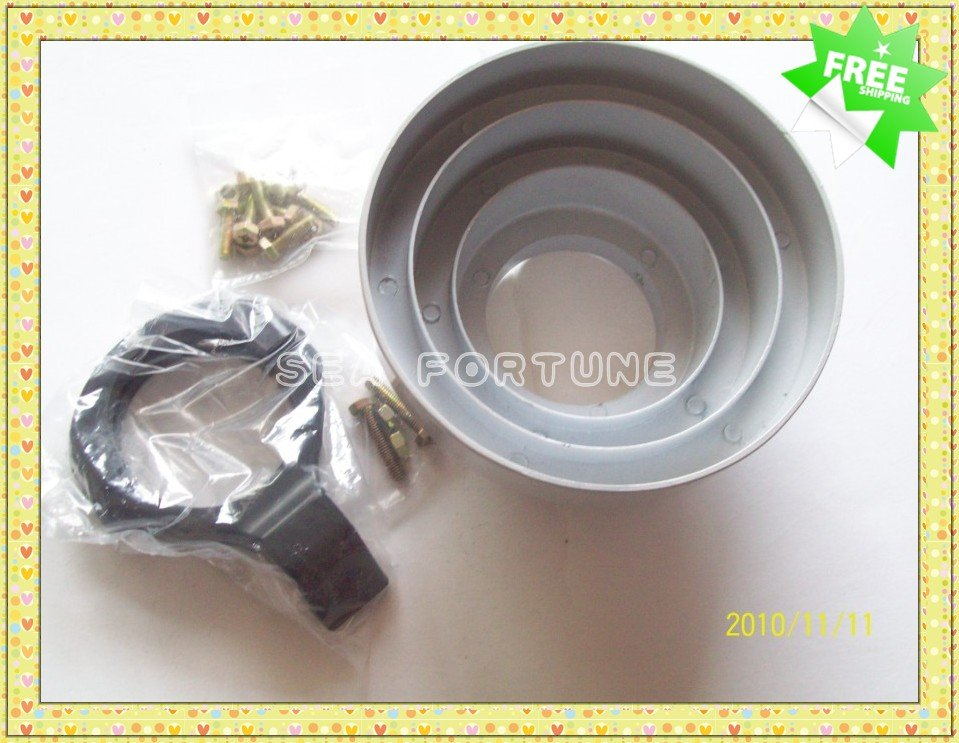 Conical Scalar Ring for LNB, 4 Rings, offset antenna receive C band signal, Drop Shipping(China (Mainland))