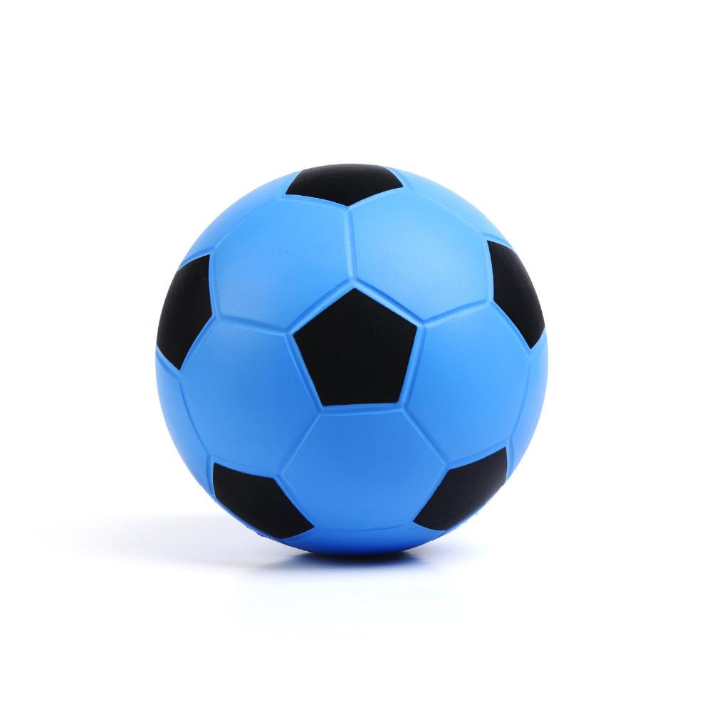 Soccer Balls A+++ 2015-2016 New Soccer Ball Football Anti-Slip Soocer Ball PU Size 4 Football Balls For Kids Colors Blue & Black(China (Mainland))