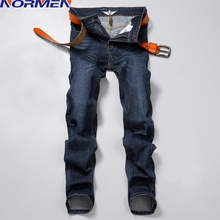 2016 New Design Men's Casual Solid Jeans Full Length Slim Mid Raise Fashion Jeans Homme Wholesale Drop Shipping(China (Mainland))