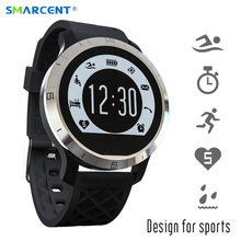 Buy SMARCENT Swimming Bathing Smartwatch Heart Rate Monitor IP68 Waterproof Bluetooth Smart Watch Fitness Tracker IOS Android for $36.42 in AliExpress store