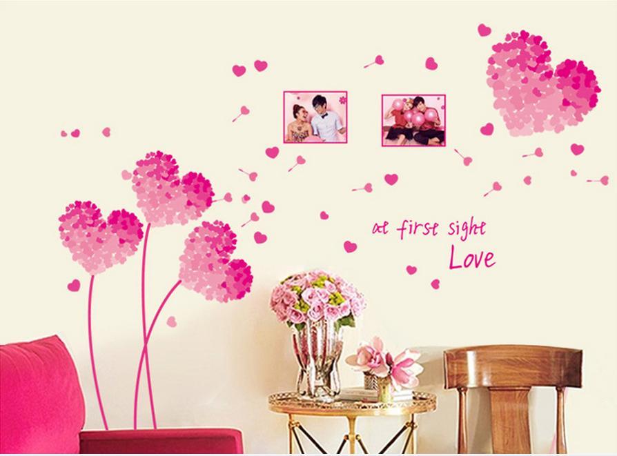 Comprar coraz n 3d pegatinas de pared for Proveedores decoracion hogar