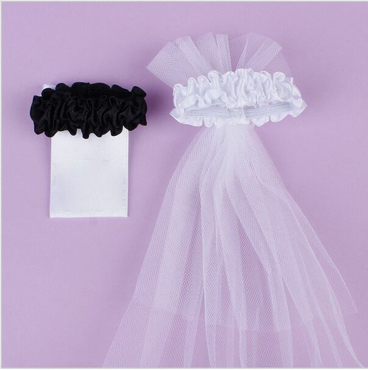 set of 2 Bridal Veil//Groom Tux//Bow knots Bridal Veil /& Groom Tux Wedding Bridal Wine Glass Cup Cover