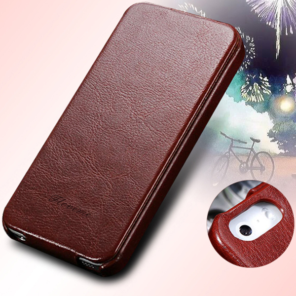 For 4s Retro Flip Magnetic Close PU Leather Case for iPhone 4 4s 4g Deluxe Elegant Phone Cover Leisure Full Protect Phone Bags(China (Mainland))
