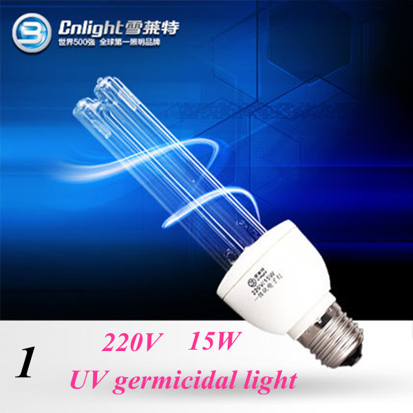 Free shipping UV germicidal lamp ultraviolet medical sterilize light for bedroom toilet hospital classroom disinfect kill mites(China (Mainland))