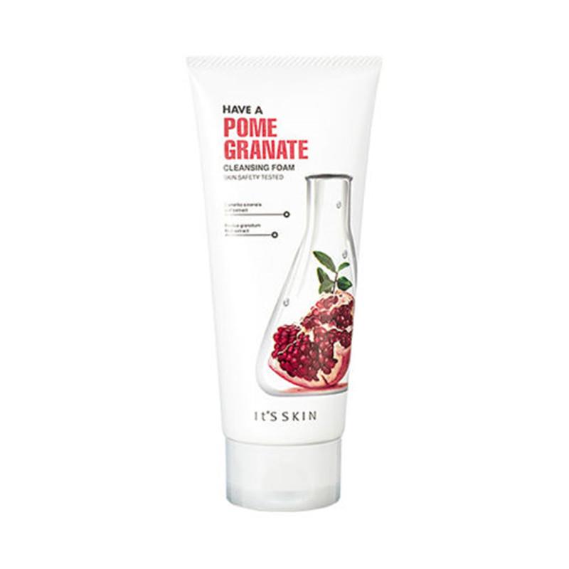 It'S SKIN Have a Pomegranate Cleansing Foam150ml Skin Care Cleanser Moisturizing Brightening Original Korean Cosmetics
