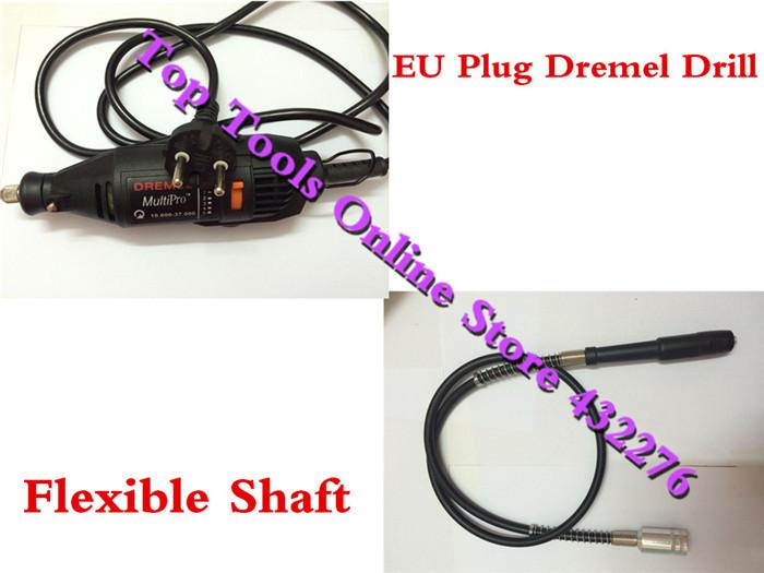 EU Plug DREMEL Mini-mill Grinding Machine Engraving Pen Electric Drill DIY Dirlls,with Flexible Shaft - Top Tools Online Store 432276 store