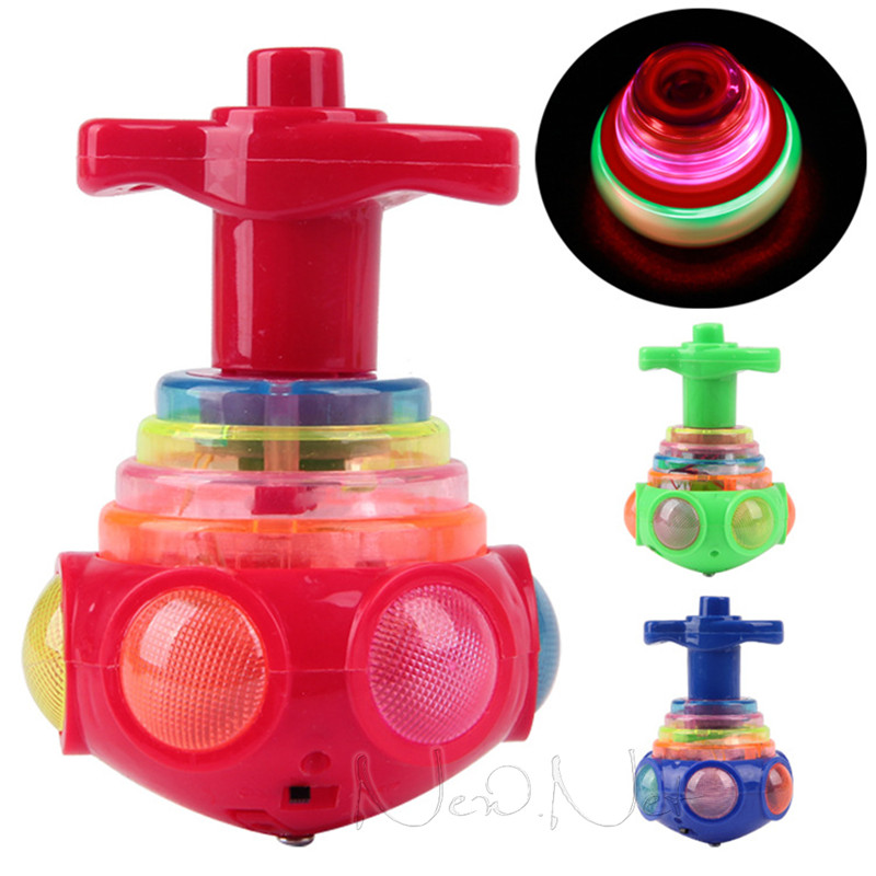 Electric UFO Music Gyroscope for Children's Gifts Sing Light More Than 3 Years Old(China (Mainland))