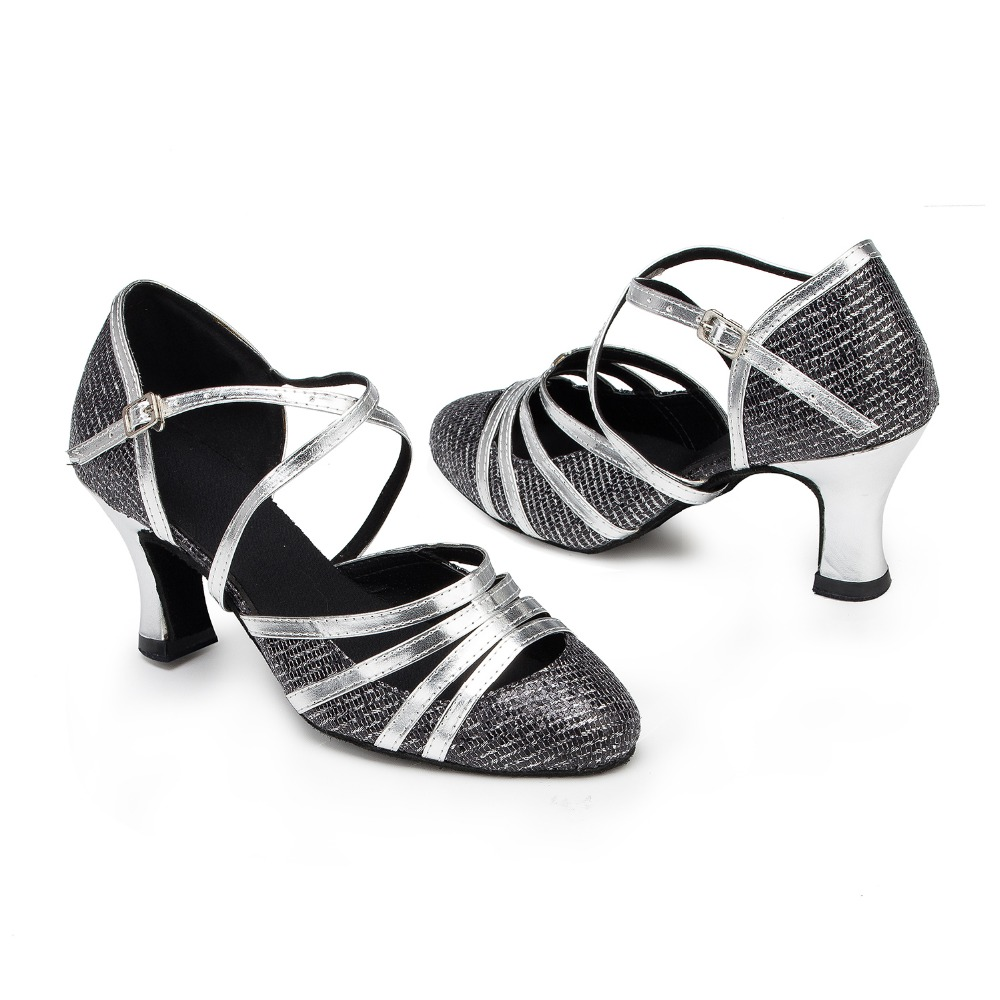 D1076 Ladies Ballroom latin dance shoes discount price dance shoes ship worldwide<br><br>Aliexpress