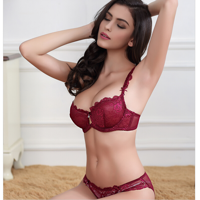 Online Buy Wholesale bra set pink lace from China bra set pink ...