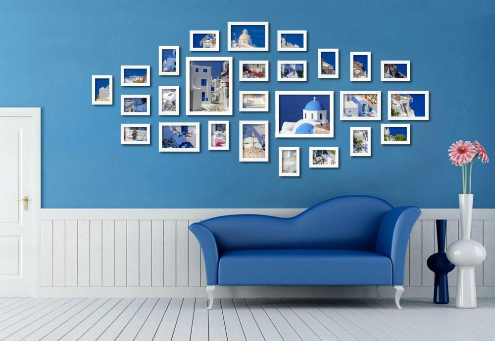 Wall Decor Ross : Ross pcs set decoration home art photo frames sm a w