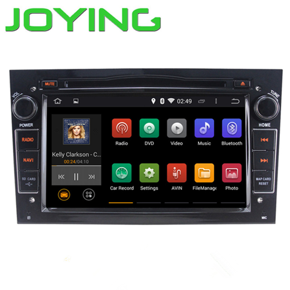Joying Android 4.4.4 Quad Core 2din 7 inch Opel Vectra GPS navigation with mp3 mp4 player radio WIFI CANBUS RDS 1024*600(China (Mainland))