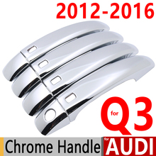 Audi Q3 Luxurious Chrome Door Handle Covers Trim Set 4Door SQ3 RS 2012-2016 Accessories Car Styling 2013 2014 2015 - Earthwings Car-Styling Store store