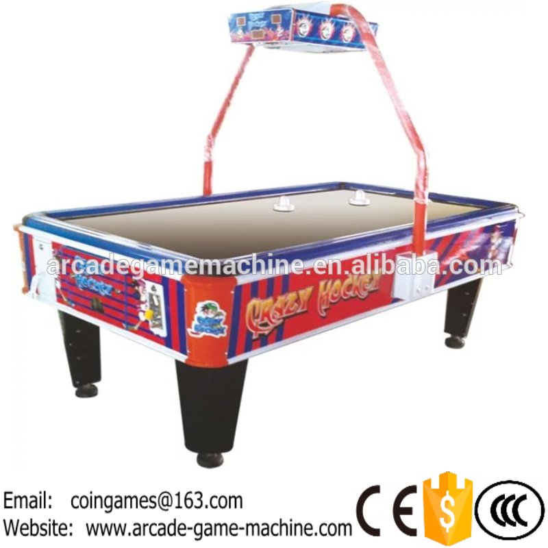 2016 The Newest Amusement Equipment Arcade Indoor Coin Operated Lottery Redemption Crazy Air Hockey Table Game Machines<br><br>Aliexpress