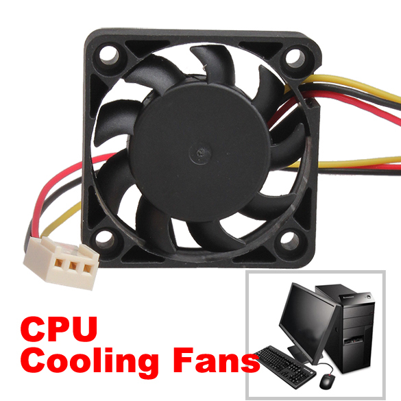 CPU Cooling Fan PC 12V 3 Pin 40mm Computer Case Cooler Quiet Cooling Fan F Heat Sink XXM(China (Mainland))