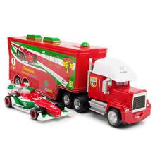 2 шт./компл. автомобили Pixar франческо мак Superliner литья под давлением 1:55 металлические модели средств для детей игрушки автомобиль игрушки для детей Brinquedo
