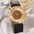 Fashion CLAUDIA High Quality Women Glitter Dial Leather Band Analog Quartz Wrist Watch Watches FreeShipping Hot
