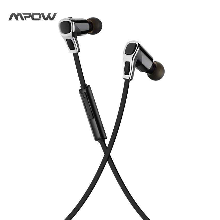 MBH20 Mpow Swallow Wireless Sport Bluetooth 4.1 Headphones CVC6.0 Noise Cancelling Handsfree Calling Earphone Stereo Headphone(China (Mainland))
