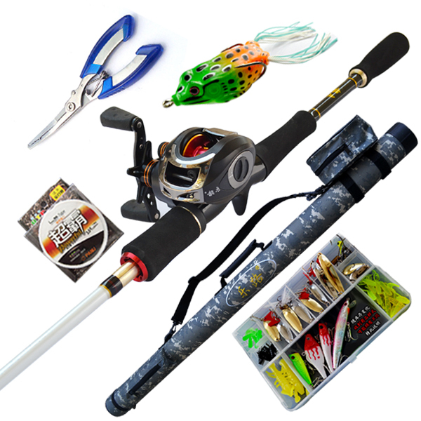 how to set fishing rod