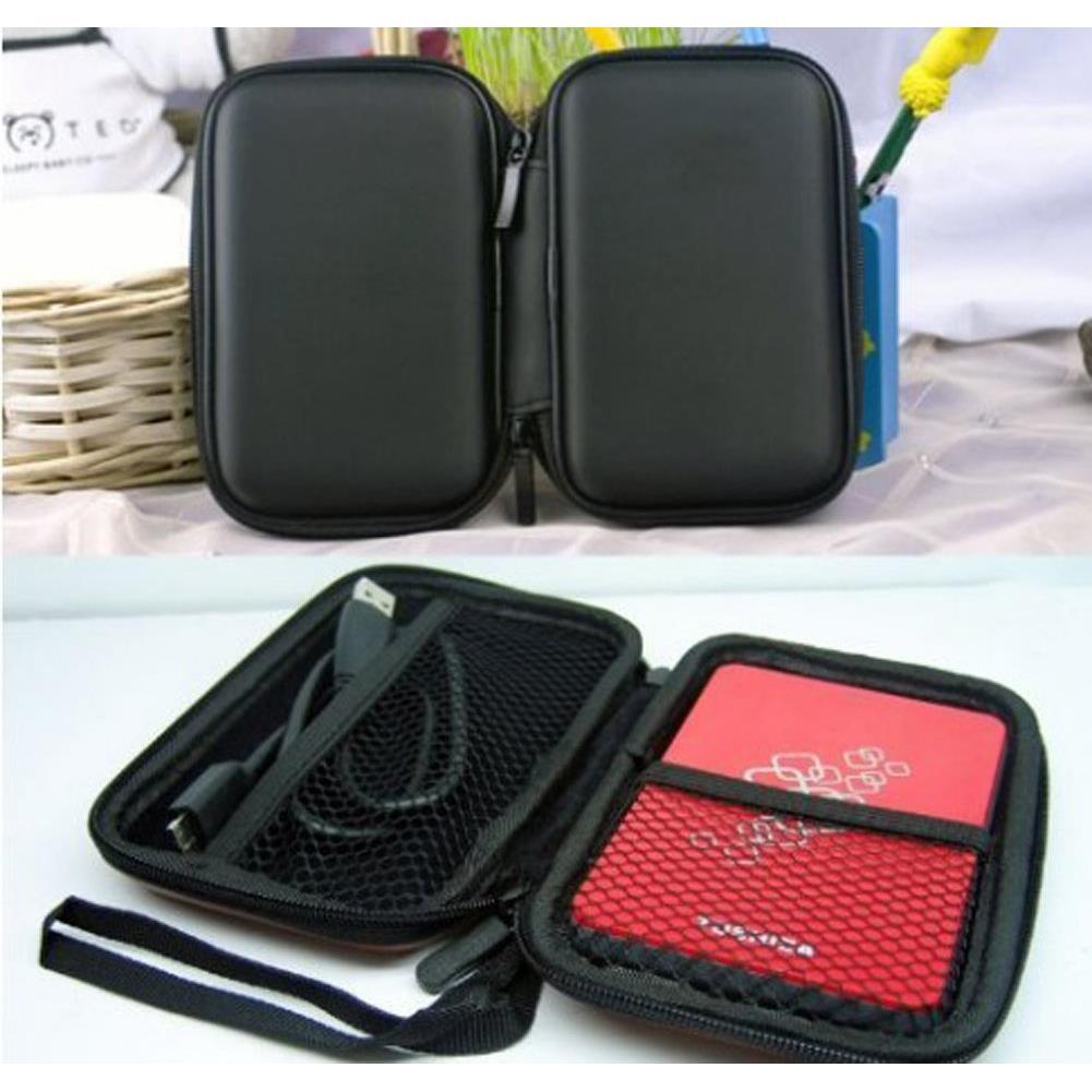 """Best selling Zehui Portable Hard Disk Drive Shockproof Zipper Cover Bag Case 2.5"""" HDD Bag Hardcase Blue(China (Mainland))"""