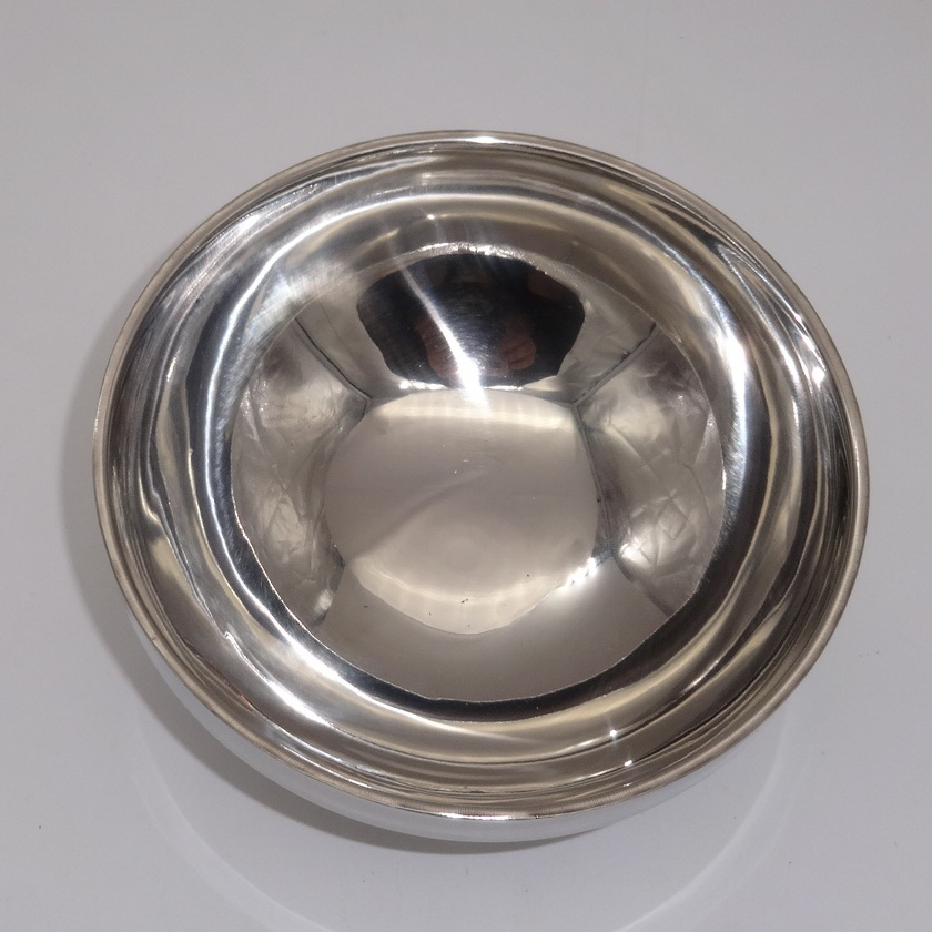 1 pc Double stainless steel bowl with no heat insulation and heat proof bowl bowl(China (Mainland))
