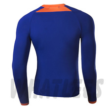 Long Sleeves Compression Base Layers W Graphic Double Sleeves Multi functional Fitness Exercise Sports Tops T