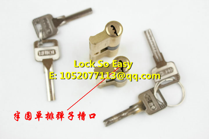 Locksmith Tools, Semicircle Single-row Kaba Training Lock For Training Skill Locksmith Supplies(China (Mainland))