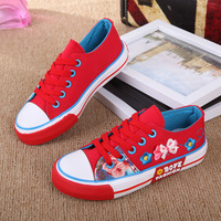Kids Canvas Shoes boys and girls breathable canvas shoes embroider children's sneakers 3 Colour