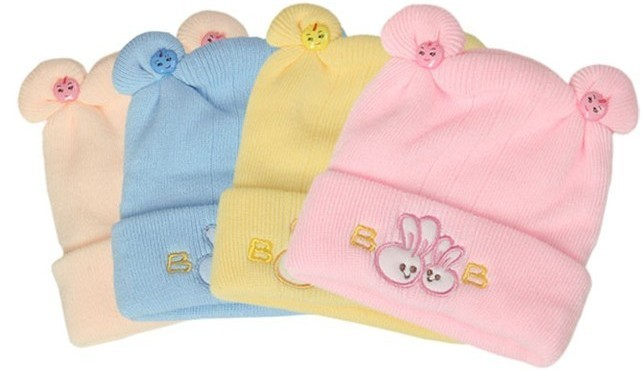 Baby tire cap autumn and winter hat yarn baby spring and autumn cashmere hat newborn knitted hat pullover thermal(China (Mainland))
