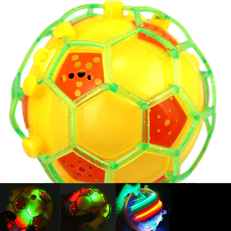 Crazy Dance Music Light Up Football Toys Colorful Electric Led Novelty Toy Funny Dancing Ball Toy(China (Mainland))