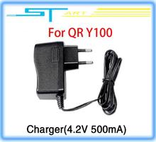 10pcs/lot Charger 4.2V 500mA spare parts for Walkera QR Y100 FPV Aircraft UFO RC Quadcopter Drone helicopter Free shipping