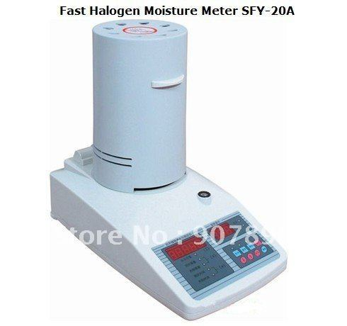 Fast Halogen Moisture Meter (0.01%-100%) 0.001g Free shipping(post air mail) wholesale retail and drop shipping