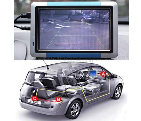Promotion!2014 Car Rear Camera View Reversing Backup Vehicle Color Max 170 Angle Camera E128 Drop Shipping 34(China (Mainland))