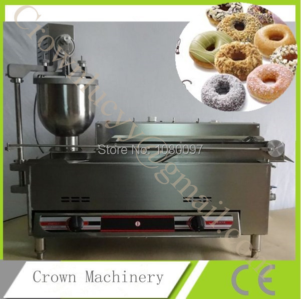 Electric and gas mini donut frying machine;commercial donut maker(China (Mainland))