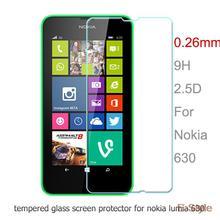 N630 0.26 мм 9 H взрывонепроницаемый корпус закаленное стекло для Nokia Lumia 630 / 635 премиум-экран протектор фильм