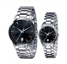 New classical fashion leisure wrist AR2440 / AR2441 delicate stainless steel series. Original box + free shipping(China (Mainland))